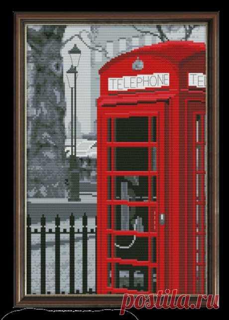 3 Modern Cross Stitch Kits London Travel Embroidery Kits | Etsy