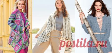 Как связать женский кардиган спицами: самые модные модели женских кардиганов 2018 своими руками с оригинальными узорами и фото-идеями | QuLady