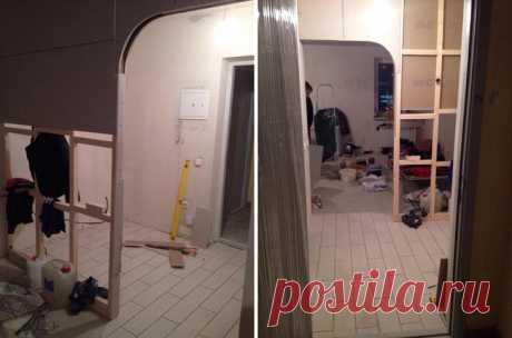 """La reparación del malometrazhki-estudio por el área 29 de \""""los cuadrados\"""" por $5000"""