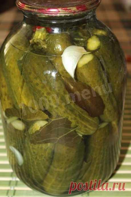 Домашние соленые огурцы хрустящие в банках на зиму рецепт с фото пошагово - 1000.menu