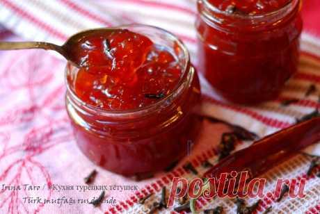 Перечное варенье. Рецепт турецкой кухни