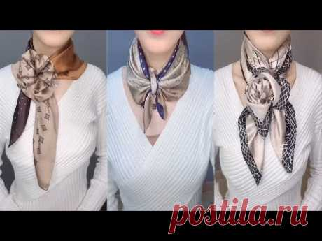 20 Ways To Wear a Scarf + How-To Tips