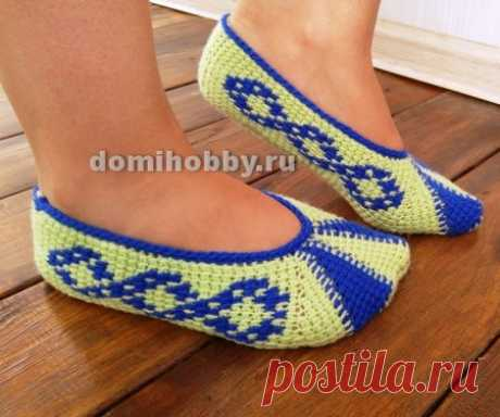 Socklets Tunisian knitting