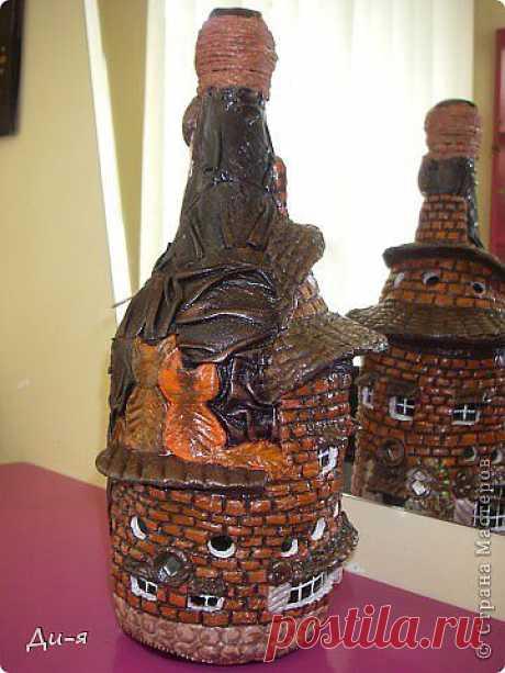 Декоративные бутылки | Записи в рубрике Декоративные бутылки | Копилочка рукоделия
