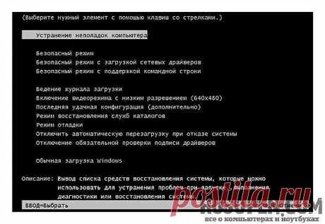 Система восстановления Windows 7   Как работает система восстановления   Компьютер не загружается. Что делать?   Создание контрольной точки   RusOpen.com - все о компьютерах и ноутбуках