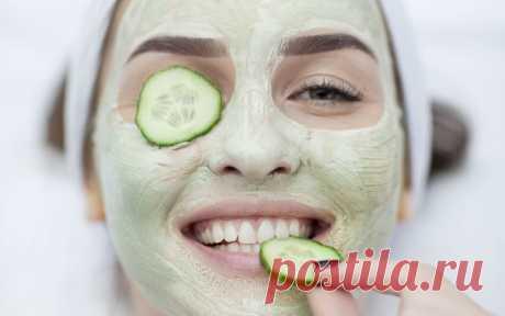 ༺🌸༻Огуречная маска для лица в домашних условиях: на глаза, отбеливающая, от морщин, чем полезен огуречный сок