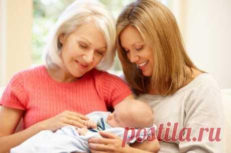 Почему бабушки с материнской стороны - самые важные люди в жизни ребенка?