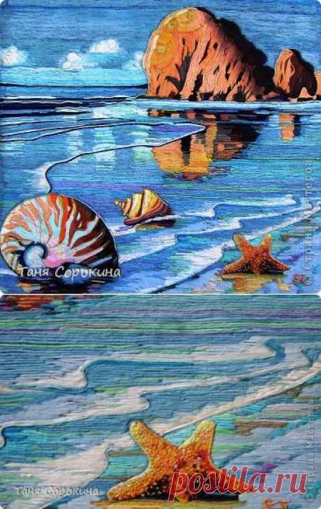 Мечта о море. Пейп-арт. | Страна Мастеров