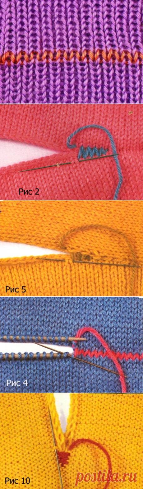 Как правильно и каким швом сшивать вязаные изделия (Уроки и МК по ВЯЗАНИЮ)
