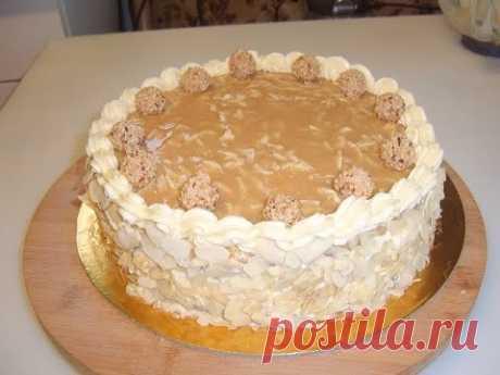 Ореховый торт. Маринкины творинки