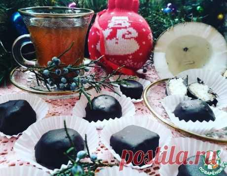 Шоколадно-кокосовые конфеты – кулинарный рецепт