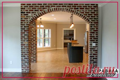 Процесс отделки дверных проемов декоративным камнем выглядит следующим образом: #советы