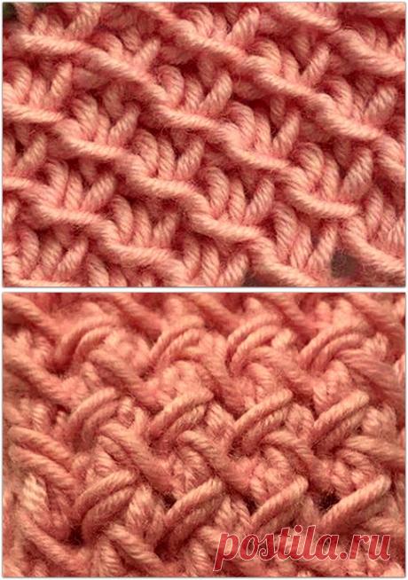 7 простых и эффектных «плетёных» узоров спицами   Paradosik_Handmade   Яндекс Дзен
