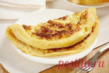 Яблочный омлет, можно приготовить даже из одного яблока | Другая Кухня /Дневник фудблогера | Яндекс Дзен