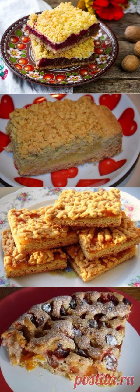 Тертые пироги: 5 рецептов.