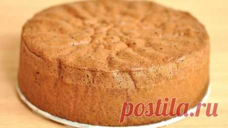 Бисквит в мультиварке / Простые рецепты