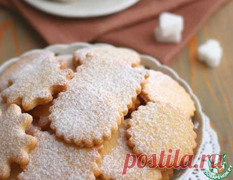 """Печенье домашнее """"Солнышко"""" – кулинарный рецепт"""