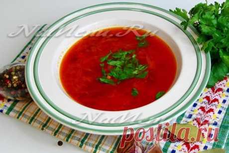 Борщ с квашеной капустой, пошаговый рецепт с фото