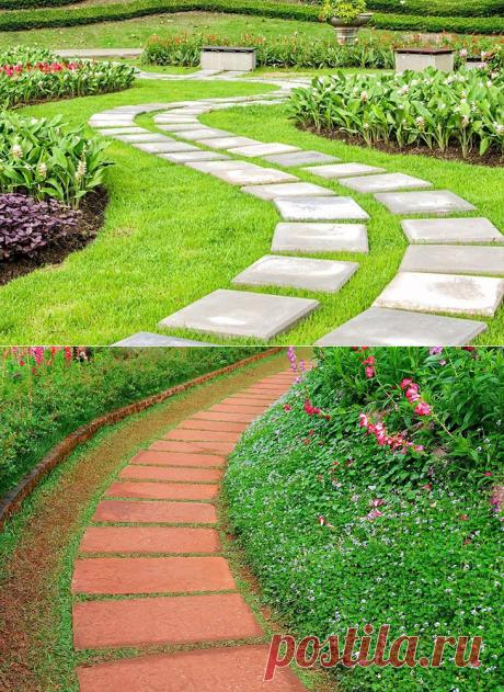 Садовые дорожки своими руками, основные ошибки садоводов