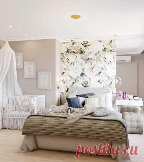 Бюджетная спальня с элегантными деталями