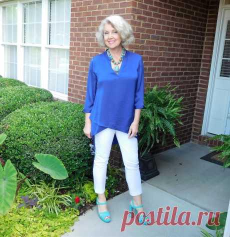 Как стильно и элегантно одеваться после 60 лет
