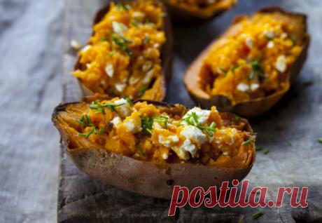 Печеный картофель с брынзой | Новости, обзоры, акции в интернет-магазине TOP SHOP