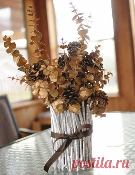 Осенние поделки из природных материалов и листьев