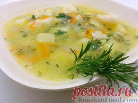 Рецепт: Суп картофельный с клецками.