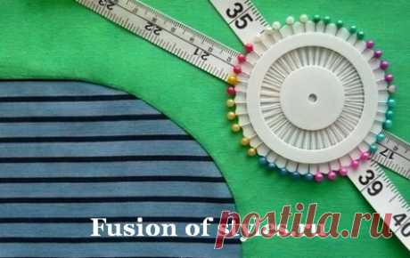 Como juntar los detalles con los bordes redondeados   Todo sobre la moda, el estilo, la costura y la costura la FUSIÓN de los ESTILOS