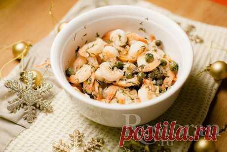 Рецепт чесночных креветок Restoran.ru