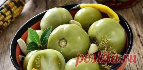 Зеленые квашеные томаты, получаются как бочковые, очень простой и невероятно вкусный рецепт!!!   уДачная грядка   Яндекс Дзен