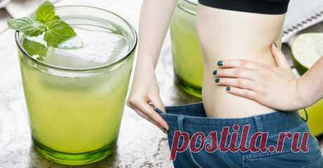 Сжигайте жир, принимая этот удивительный напиток - Полезные советы красоты