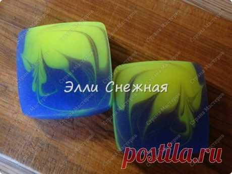 МК- мыло со свирлами без специальных форм
