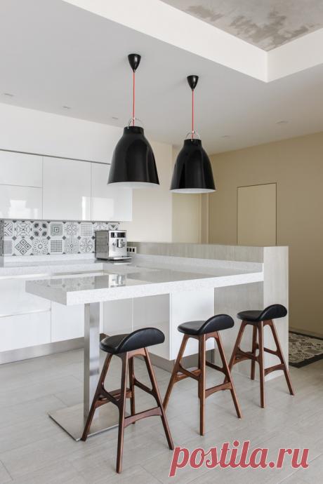 Барная стойка в интерьере кухни | Роскошь и уют