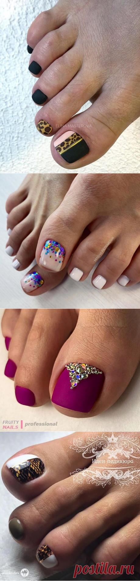 Модный педикюр 2020 года: тенденции и 40 новинок дизайна ногтей
