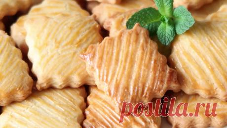 Очень простой рецепт! Вкуснейшее печенье - с хрустящей корочкой! | Кухня от Татьяны | Яндекс Дзен