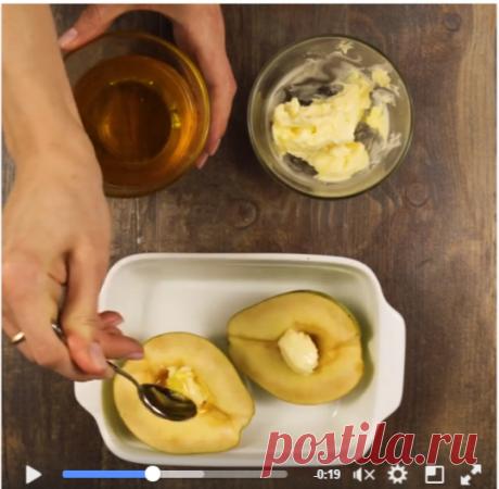видео «Медовая груша» Готовим медовую грушу! Легкий, полезный и восхитительно вкусный десерт. Вам понадобится: 1. Груши 2. Сливочное масло…