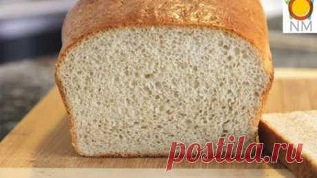 НЕВЕРОЯТНО! Хлеб из жидкого теста. Замес и выпечка хлеба,не прикасаясь к нему.Потрясающе вкусный !!!