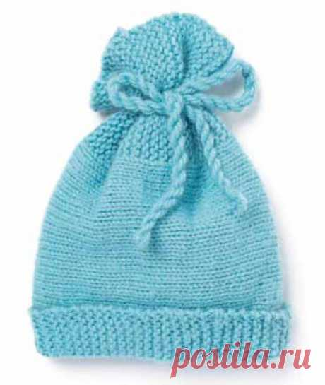 Шапочка для малышей - Шапки, кепки, шляпки, повязки - Каталог файлов - Вязание для детей