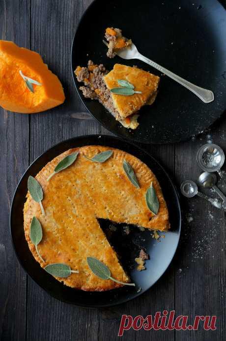 Пирог из сырного теста с говядиной и тыквой - Dancing Cakes