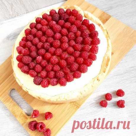 Чизкейк с малиной без выпечки: рецепт вкусного летнего десерта из свежих ягод - Досуг - Кулинария на Joinfo.ua
