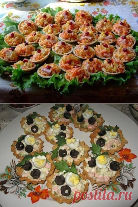 Как приготовить тарталетки с вкусными начинками - рецепт, ингридиенты и фотографии