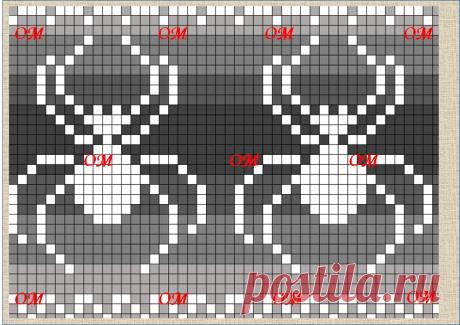 10 жаккардовых схем с насекомыми от жуков, до стрекоз   Про мои рукоделочки и вкусняшки   Яндекс Дзен