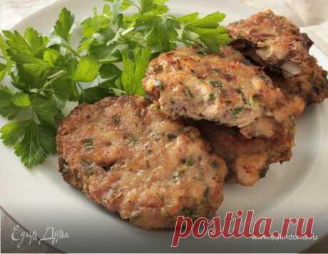 Рубленые котлеты из куриного филе и печени, пошаговый рецепт на 1635 ккал, фото, ингредиенты - Надежда