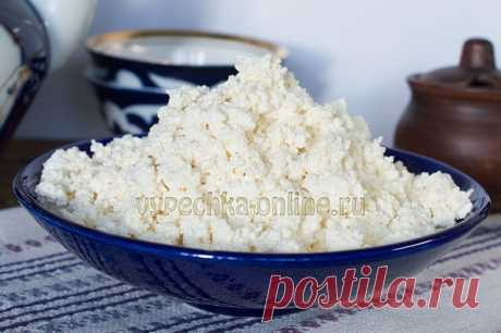 ✔️ How to make cottage cheese of kefir in house conditions