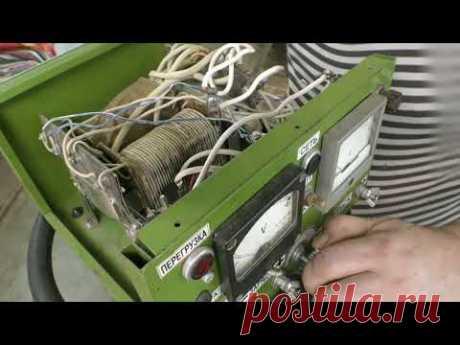 Обзор и ремонт самодельного зарядного устройства.