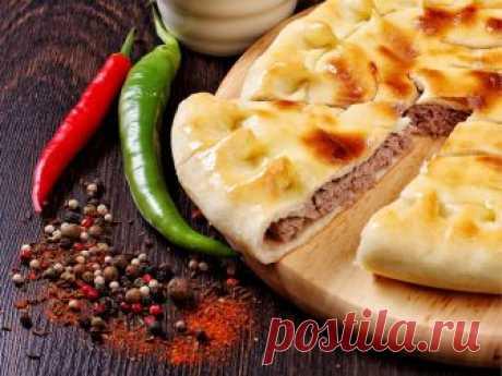 *Осетинский пирог с мясом «ФЫДЖИН»*