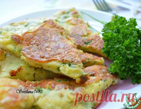 Сырная лепешка на сковороде – кулинарный рецепт