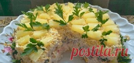 """Нежный и очень вкусный """"Торт-салат"""" » Кулинарный сайт"""