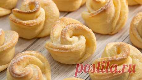 Просто сворачиваю творожное тесто и выпекаю: вкуснее печенья и придумать сложно (делюсь простым рецептом) | Евгения Полевская | Это просто | Яндекс Дзен